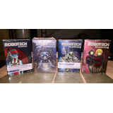 Robotech Remastered Extended Edition Dvds Completa C/figuras
