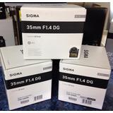 Lente Sigma 35mm F1.4 Dg Hsm Serie Art Full Frame Nikon