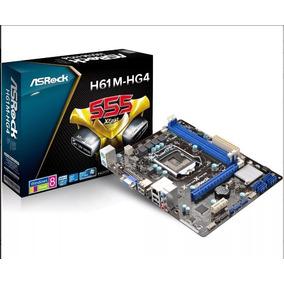 Placa Mãe 1155 Com Hdmi Asrock H61m-hg4 S/v/r Intel H61m