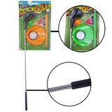 Kit Esportivo Mini Golf Com Taco De Aste Metal E Acessórios