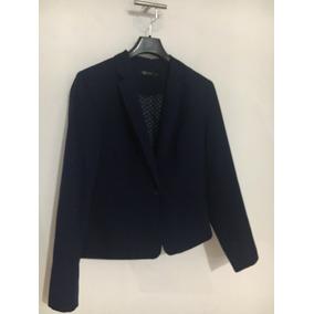 Saco De Vestir Azul C&a