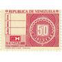 Timbre Fiscal De 50 Bs. República De Venezuela Mh Seniat
