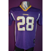 Camiseta Nfl Minnesota Vikings Reebok #28 Peterson.