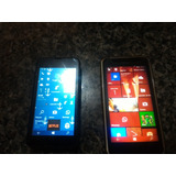 2 Celulares Lumia , 630 E 530 Pra Vender Logo