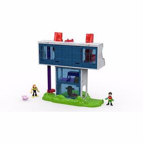 Brinquedo Playset Imaginext Torre Dos Jovens Titans Dtm81