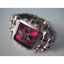 Relógio Tank Minute Machine Masculino Importado Style Top