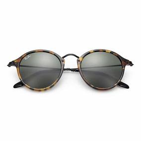 Óculos De Sol Ray Ban Round Fleck - Óculos no Mercado Livre Brasil 12ea7c7c07