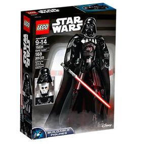 Lego Darth Vader 2018 Con Casco Removible!