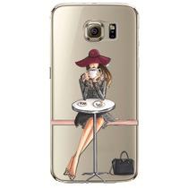 Funda Transparente Lady Samsung Galaxy S7 S7e Envío Gratis