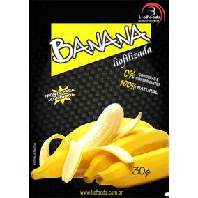 Snack Banana Em Pedaços Liofoods