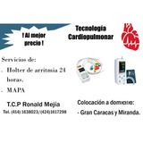 Servicio A Domicilio De Holter Ritmo Y Presión Arterial Mapa