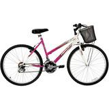 Bicicleta Marbela 18v Aro 26 Magenta/bc Track Bikes Un.