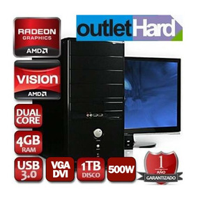 Computadora Pc Nueva Dual Core A4 4000 4gb 1tb Dvd San Migue
