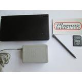 Nintendo Dsi Color Negro Completo Cargador Lapiz Memoria Nds