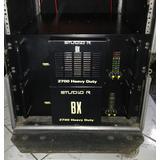 Amplificador Studio R Bx 2700 Novíssimos! (rack)
