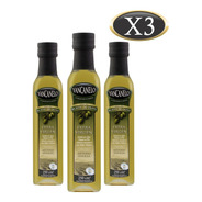 Aceite De Oliva Extra Virgen Yancanelo Botella 250 Ml X 3 U