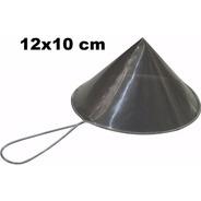 Coador De Óleo Chinoy Telado 12x10cm Inox
