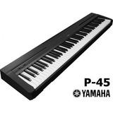 Piano Digital Yamaha P45 Ped/fue /envio Gratis!! Belgrano!