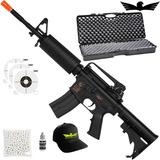 Kit Rifle De Airsoft Elétrico Cybergun Colt M4a1 Carbine +