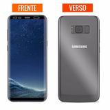 Película Gel Curvada Samsung Galaxy S8 G950 Frente & Verso