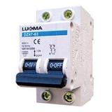 Disjuntor Din Bipolar Curva C 20a Lukma // 34015