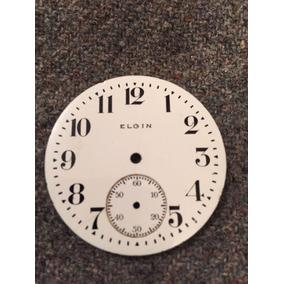 Vendo Esfera De Porcelana Pra Reloj De Bolsillo