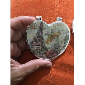 100 Espejos Bolsillo Eiffel Paris Recuerdo Boda Xv Años