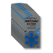 30 Pilas Audifono Rayovac Extra Advanced Nro 675 Pr44 1,45v