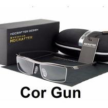 Armação Masculina Óculos Grau Fio Nylon Tr90