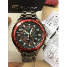 c628a2ace11 Relogio Casio Edifice Fundo Vermelho Pulso - Relógios De Pulso no ...