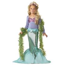 Disfraz Infantil Importado De La Sirenita