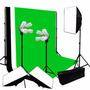 Set Fotografico Estudio Softbox Kit