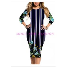 Vestido Midi Longuete Moda Evangélica Plus Size Até O 50
