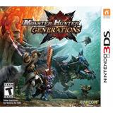 Monster Hunter Generations - New 3ds - Nintendo 3ds - 2ds