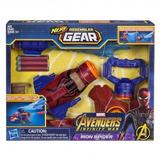 Pistola Nerf Vengadores Spiderman Capitan America Hasbro