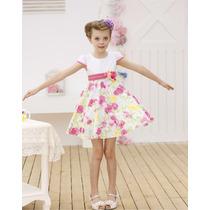 Vestido Niña Flores Talla 4 Y 5 Años Elige El 2do En $300