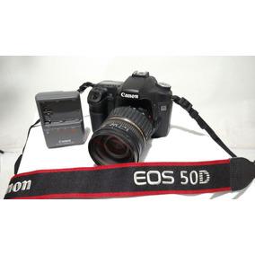 Canon Eos 50d Con 27000 Disp. Con Tamrom 17 50 2,8