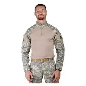 Uniforme Militar Combat Shirt + Calça Tática Areia Airsoft