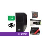 Pc Gamer Amd Ryzen 1600 16gb Ram Geteforce Gtx 1060 3gb