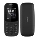 Celular Barato Simples Nokia 105 Rádio Fm Lanterna 1 Chip