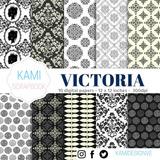 Kit Imprimible Victoria. Elegante. 15 Años. Fiestas. Vintage