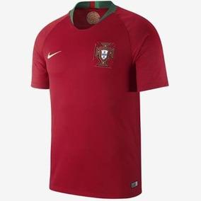 Camisa Seleção Portugal Cr7 Vermelha Masculina + Frete 18b1d50a97593