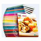 Coleção Cozinha Do Mundo Capa Dura 20 Volumes Abril