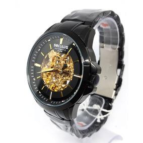 Relogio Seculus Automatico - Relógio Seculus Masculino no Mercado ... b28908b95c