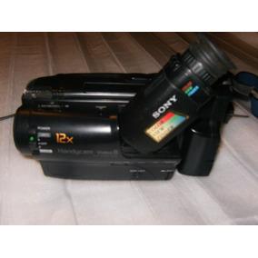 Câmera Filmadora Sony Ccd-tr460 8mm Pequeno Defeito Ler Anún