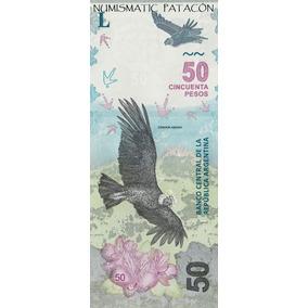 Nuevo Billete 50 Pesos Cóndor Sin Circular Hay Correlativos
