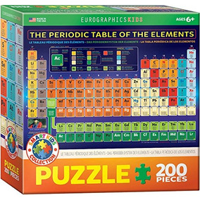 eurographics tabla peridica de elementos jigsaw puzzle 20 - Tabla Periodica Juegos Didacticos