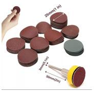 Set De Discos De Lijas Con Velcro De 1  Para Dremel