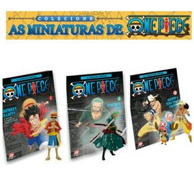 Monkey D. Luffy + Roronoa Zoro + Ussop E Chopper - One Piece