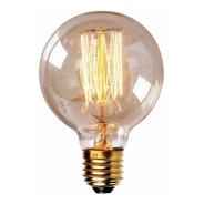 Lâmpada Vintage - Filamento De Carbono G80 - 40w 220v E27